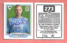 Manchester City Danny Mills England 273